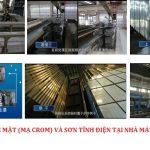 Quy trình sản xuất tạo nên thanh nhôm Xingfa Quảng Đông